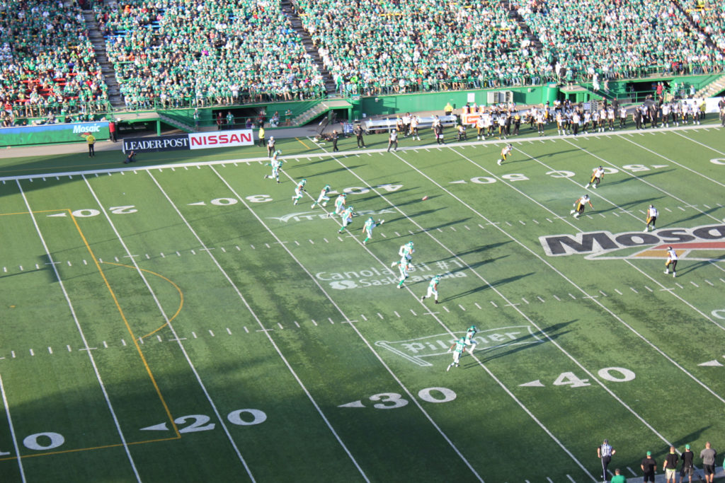 Kick off after the Dressler TD